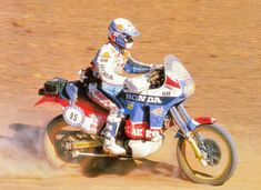 Cyril Neveu, Honda NXR 780, Dakar 1987