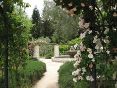 Descanso Gardens. Reminds me a regency garden.