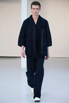 Lemaire Spring 2016 Menswear Fashion Show