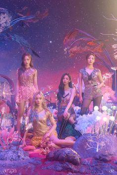 Kpop Girl Groups, Korean Girl Groups, Kpop Girls, Korean Pop Group, Black Mamba, Taemin, New Girl, K Pop, Teaser