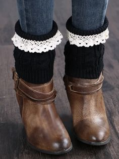 Knitted Lace Ankle Socks – linenlooks  aesthetic socks,winter socks,  chunky knit socks,socks cute  #sockscute #aestheticsocks #wintersocks  #chunkyknitsocks Yellow Socks, Pink Socks, Lace Knitting, Knitting Socks, Knee Socks Outfits, Winter Socks, Patterned Socks, Ankle Socks, Anklets