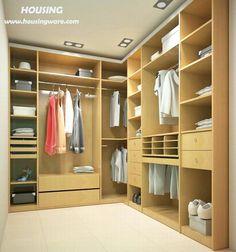 Image result for L shape closet layout