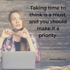 Think! Think! Think!