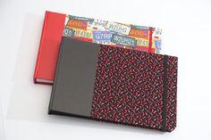 Albuns de fotos capa em tecido/ photos albuns, cover in fabric