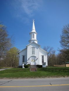 Church in Nelson NY, on the US Route 20 Scenic Byway.