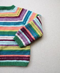 Kids Knitting Patterns, Knitting For Kids, Baby Patterns, Free Knitting, Crochet Patterns, Crochet Shawl Free, Knit Crochet, Aran Weight Yarn, Knit Baby Sweaters