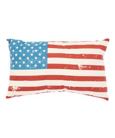 Look what I found on #zulily! Americana Throw Pillow #zulilyfinds