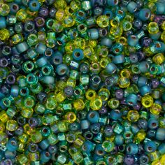 Size 11 Seaside Round Japanese Seed Bead Mix by FusionBeads.com® | Fusion Beads