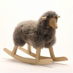 For the Little'uns. Riktig Leker rocking horse wool