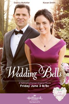 Its a Wonderful Movie - Your Guide to Family Movies on TV: Danica McKellar and Kavan Smith star in Hallmark Channel's 'Wedding Bells'