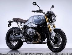 Preparing motorcycle BMW R NINET Brooklyn Scrambler Gant Rugger - New 2014 BMW motorcycle
