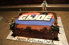 G.I Joe Birthday Cake   By Goodie2Shoes on CakeCentral.com