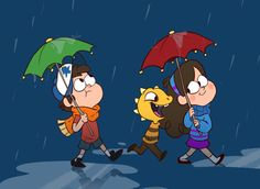 GRAVITY FALLS AND UNDERTALE COMBINED ITS THE PINES AND MINSTER KID