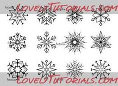 Image result for snowflake templates for royal icing