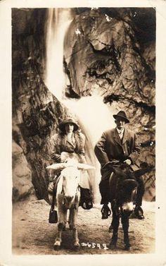 Seven Falls 1912 Colorado Springs~ Colorado