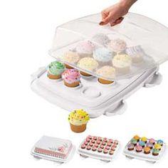 Wilton Caixa de Transporte para Cupcakes e Bolos