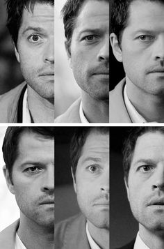 Castiel throughout the years