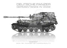 Sd. Kfz. 184 - German tank - Panzer by panzerblog.deviantart.com on @DeviantArt