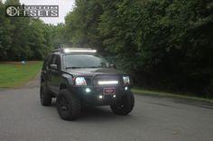 2011 xterra nissan suspension lift 3 nissan pro 4x black aggressive 1 outside fender