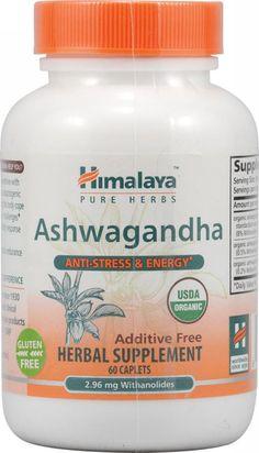 Himalaya Herbal Healthcare, Ashwagandha, 60 ct