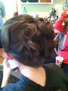 Bridesmaid style I did