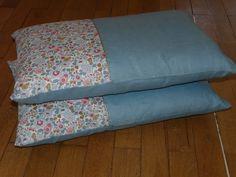 Polka Dot Quilts, Liberty Betsy, Pillow Cases, Cushion Pillow, Diy Pillows, Duvet, Bedding, Bed Sheets, Home Furnishings