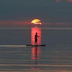 SUP #SUP #standuppaddle #paddleboarding #paddleboard #sunsets #sunset