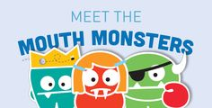 AAPD   Mouth Monsters   The Big Authority on Little Teeth