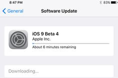 Apple's iOS 9 beta 4 is finally here and this time, everyone can join in the fun. Though this is actually meant for developers, regular users can also Ios News, Apple Inc, Whats New, Software, Join