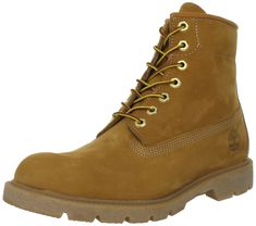 Timberland Men s Six-Inch Basic Boot,Wheat M US Classically rugged work boot  with waterproof, abrasion-resistant upper Seam-sealed construction Lug ... 727a6c28343d