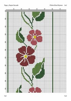 Cross Stitch Borders, Cross Stitch Designs, Cross Stitch Patterns, Prayer Rug, Decoupage, Tapestry, Kids Rugs, Crafts, Cross Stitch Rose