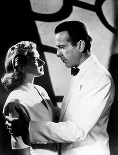 "Casablanca is often called the best film ever by many critics. Starring Ingrid Bergman and Humphrey Bogart, it is known as ""the classic"" film. Humphrey Bogart, Bogart And Bacall, Casablanca Film, Ingrid Bergman Casablanca, Movie Couples, Romantic Movies, Classic Movies, Iconic Movies, Old Movies"