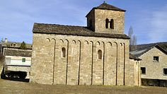 Jacetania. Huesca. Iglesia de San Caprasio