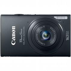 Canon PowerShot ELPH 320 HS Digital Camera - Black $319.94