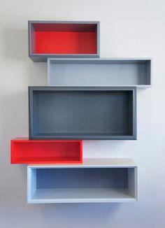 Shift 48 - contemporary - wall shelves - new york - Think Fabricate