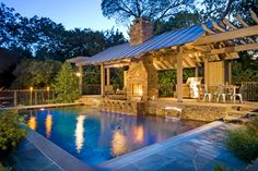 Explore inspirational outdoor kitchens for ideas on cooking islands, gas grills, cooking centers, eating areas and more.