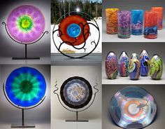 N.Macomber hot glass artist ... beautiful work