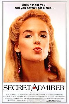 SECRET ADMIRER: Directed by David Greenwalt.  With C. Thomas Howell, Lori Loughlin, Kelly Preston, Dee Wallace. On the last day before summer vacations Michael receives a glowing, but anonymous, love-letter. He hopes, it's from Deborah, the girl he's after since a while, but who dates college students only. However she shows him a cold shoulder again. So his and her best friend Toni advises him to write her an anonymous letter in return. However these letters get in the wrong hands ...