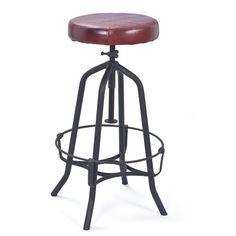 Tabouret De Bar Design Réglable Recycle Atylia