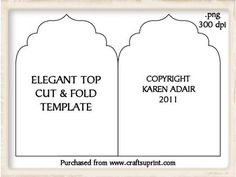 foldable cards templates