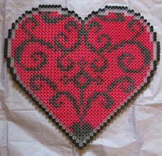 Heart Hama Bead Pattern