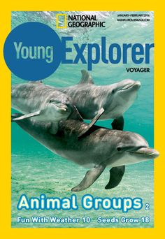 Cover - National Geographic Young Explorer