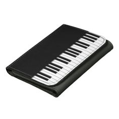 Elton John's wallet? Piano Keyboard Keys Wallet #music #musicfan