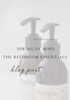 What caught my eye for spring was to incorporate a moody and strong scent that speaks visually and atmospherically to integrate in soft minimalism. I've selected a few items that are refined, simple and locally made. Bathroom Essentials, Home Trends, Minimalism, Mindfulness, Strong, Eye, Simple, Blog, Inspiration