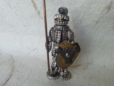 Vintage Knight  Handmade Vintage Knight with a Spear and by Astra9
