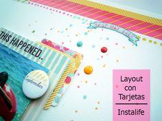 Cómo puedes sacar partido a tus Tarjetas de instalife (I) Best Day Ever, Layouts, September, Art, Cards, Kunst, Art Education, Artworks