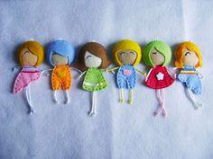 Aplikasi Mini Cute Felt Doll | I, My, Me, Mine, Kuchiki Nge-Craft!