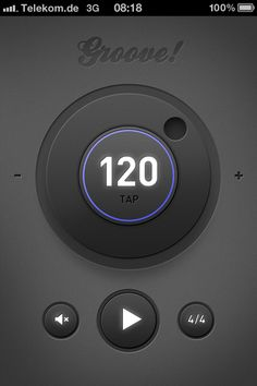 Groove! The simple metronome app