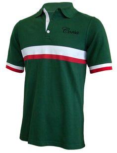 'Corsa' Retro Polo-Shirt
