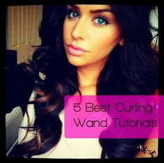 5 Best Curling Wand Tutorials - Curling wands may seem self-explanatory, but there are many tips, tricks and products that only the beauty gurus of YouTube seem to know. The 5 best tutorials that I came across on YouTube.